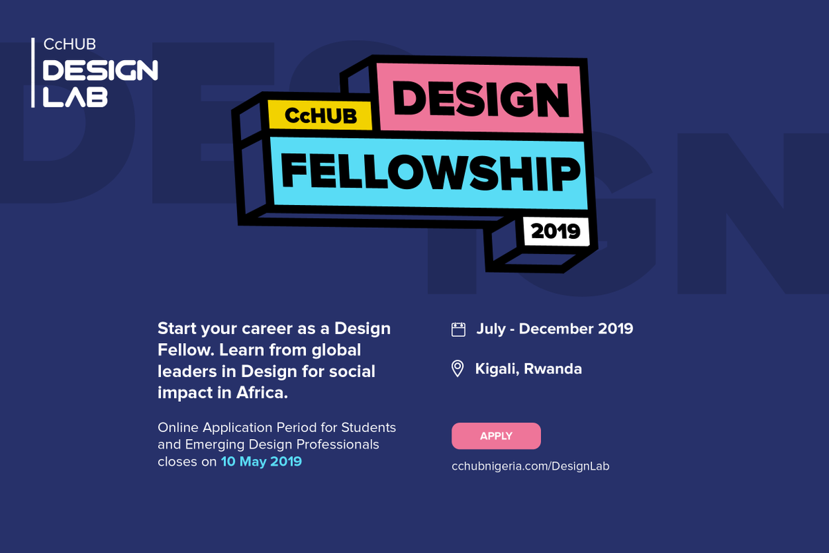 Co-Creation Hub (CcHUB) Design Fellowship