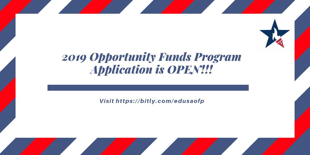 EducationUSA Opportunity Funds Program (OFP)
