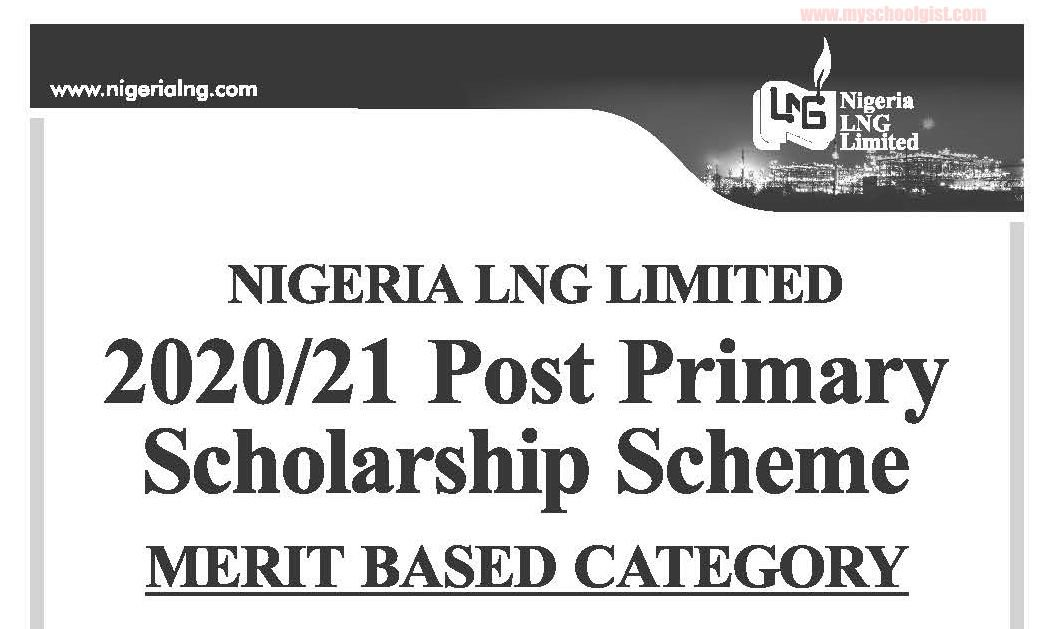NLNG Post Primary Scholarship 2020