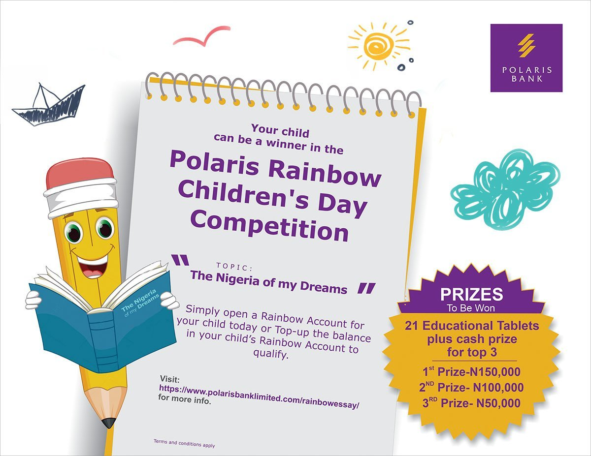 Polaris Bank Rainbow Children's Day Competition