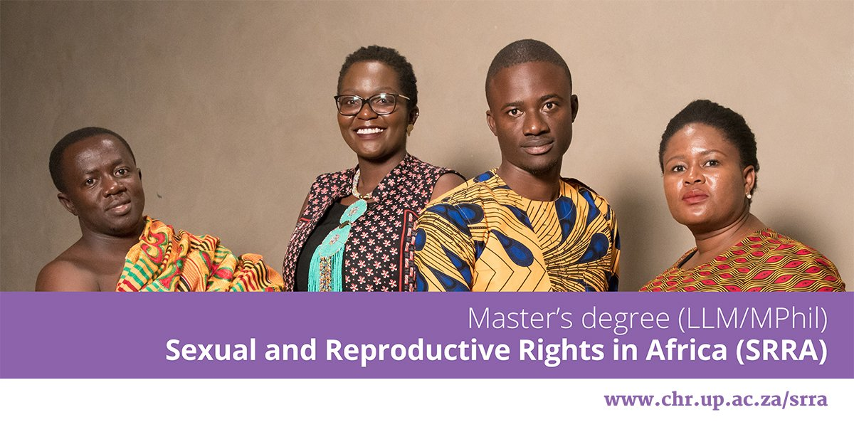 University of Pretoria LLM MPhil (Sexual & Reproductive Rights in Africa) Scholarships