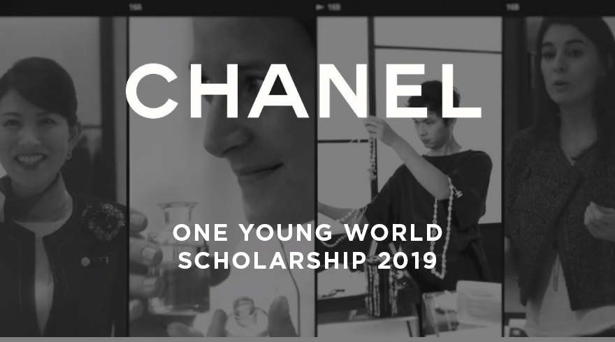 CHANEL One Young World Scholarships 2019