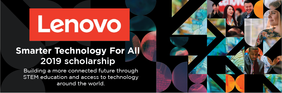 Lenovo Smarter Technology for All Scholarship