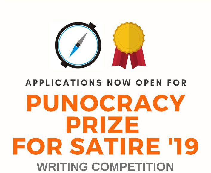 Punocracy Prize for Satire (PuPS) Writing Competition