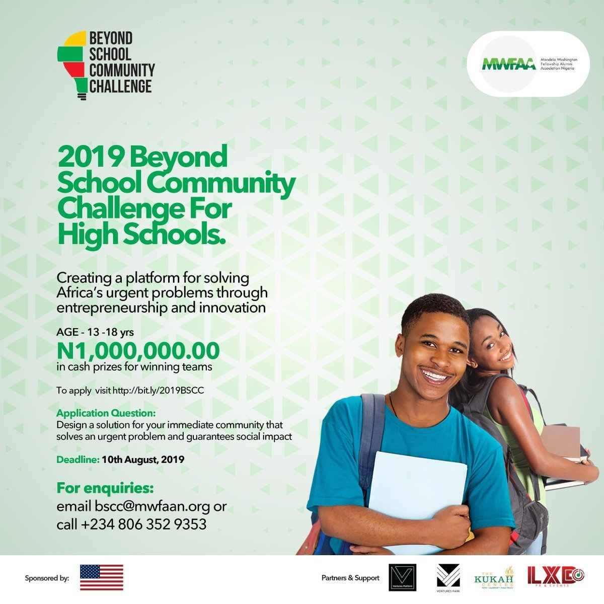 MWFAAN Beyond School Community Challenge