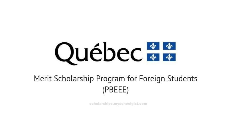 Québec Merit Scholarship Program