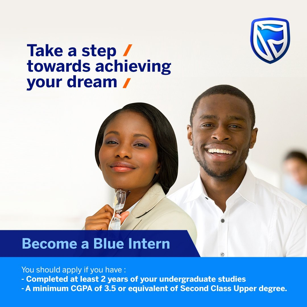 Stanbic IBTC Bank Blue Internship Program
