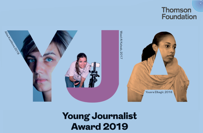 Thomson Foundation Young Journalist Award 2019
