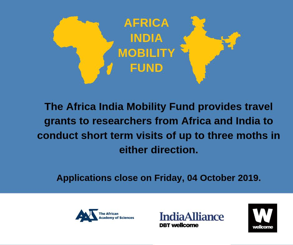 African Academy of Sciences (AAS) Africa India Mobility Fund