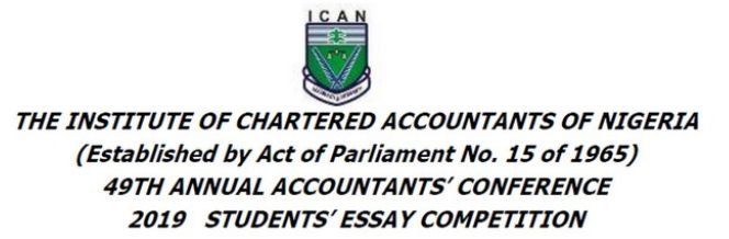 ICAN Students' Essay Competition