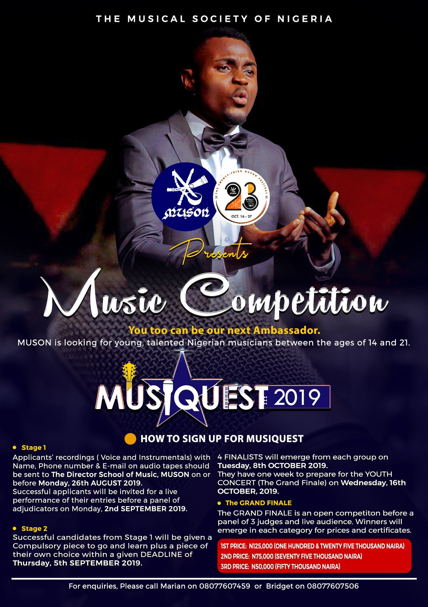 Musical Society of Nigeria (MUSON) MusicQuest Competition