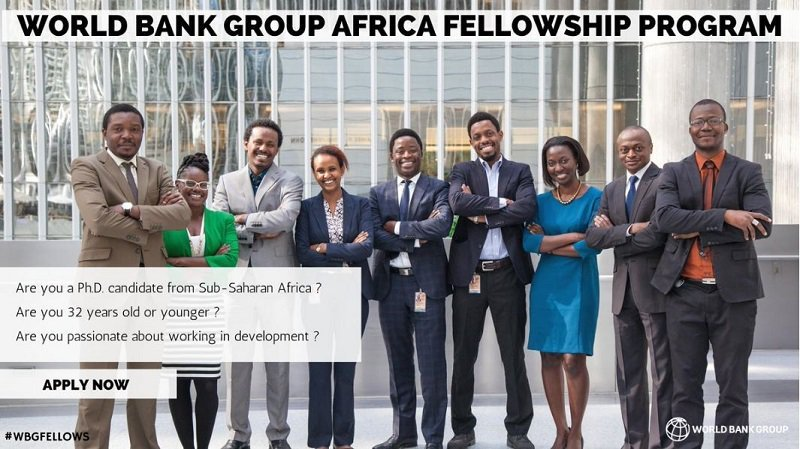 World Bank Group (WBG) Africa Fellowship Program
