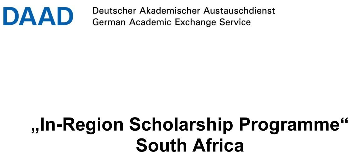 DAAD In-Region PhD Scholarship Programme at AIMS South Africa