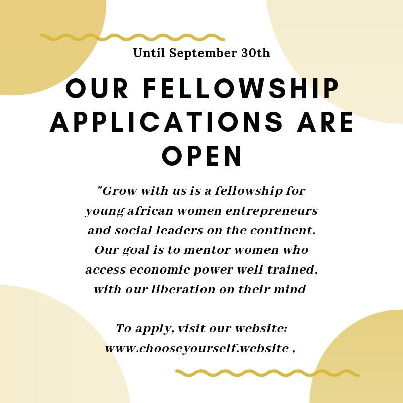 GROW WITH US Fellowship Program
