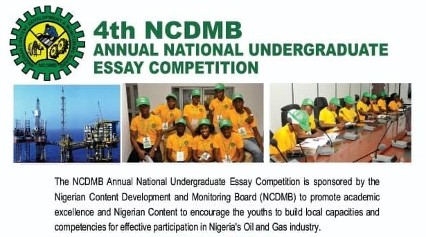 NCDMB Essay Competition 2020