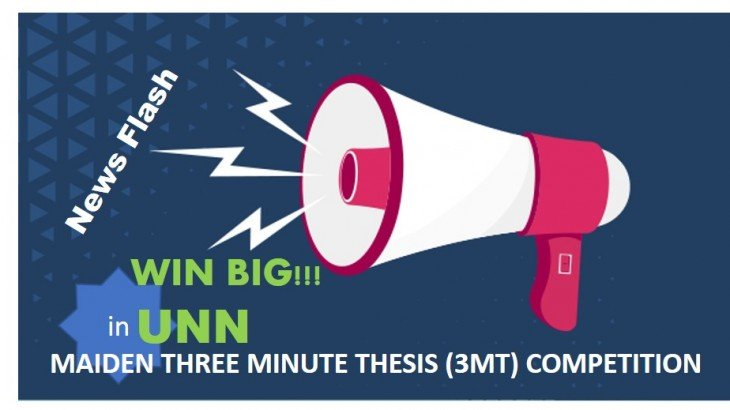 UNN Three Minute Thesis (3MT) Competition