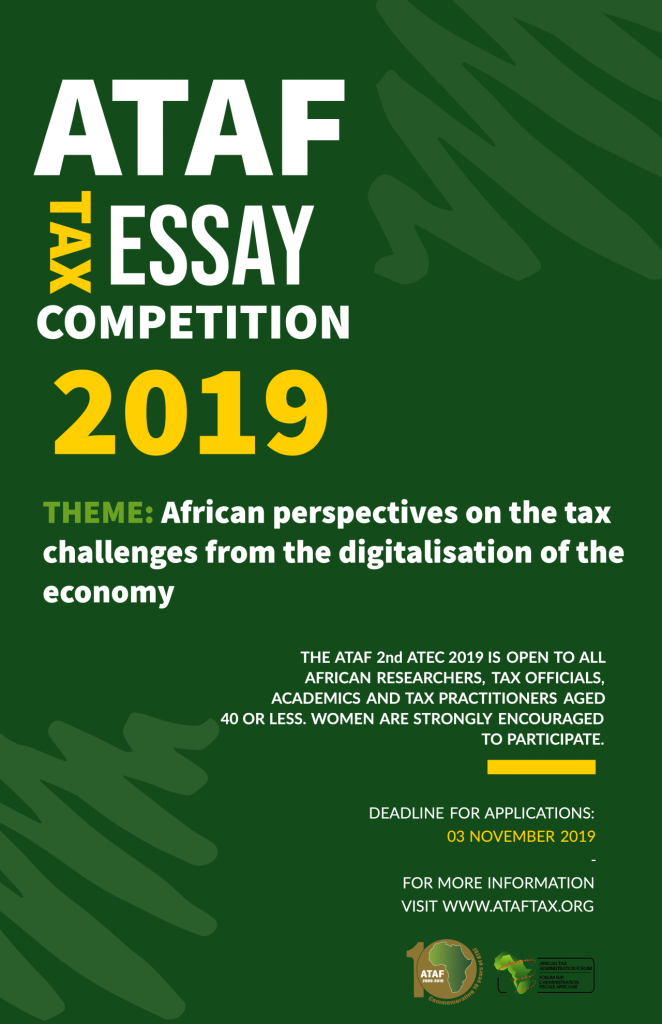 African Tax Administration Forum (ATAF) 2nd Africa-Wide Tax Essay Competition