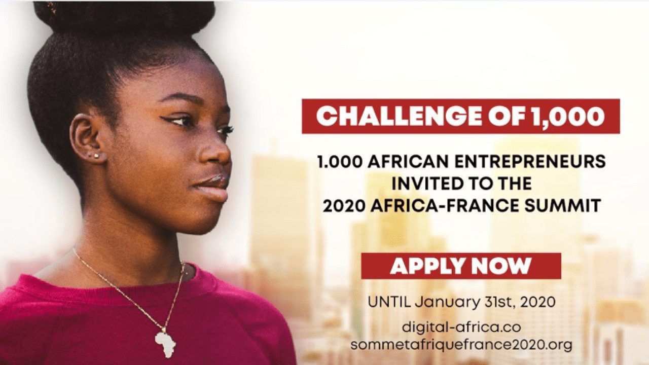 2020 Africa-France Summit:Digital Africa Challenge of 1000