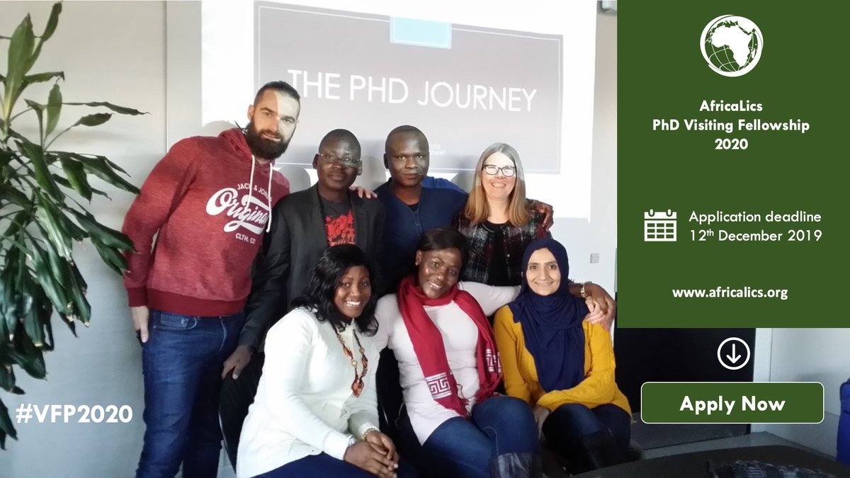 AfricaLics Visiting PhD Fellowship Programme