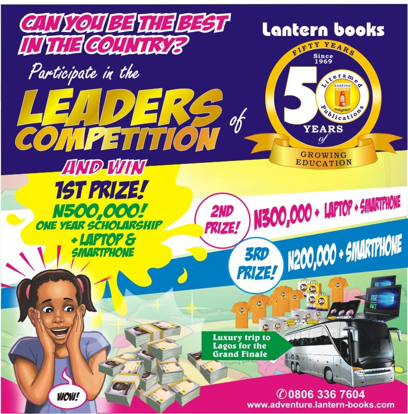 Lantern Books Scholarship for Primary School Pupils in Nigeria