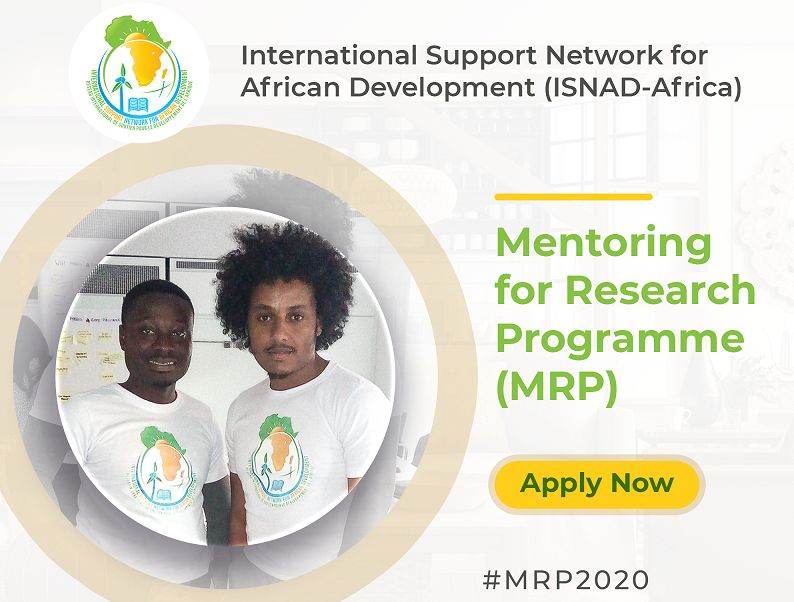 ISNAD-Africa Mentoring for Research Programme