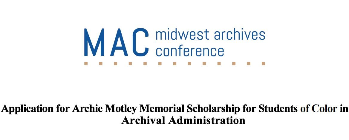 MAC Archie Motley Memorial Scholarship for Students of Color