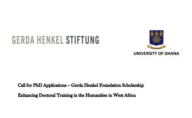 Gerda Henkel Foundation Scholarship