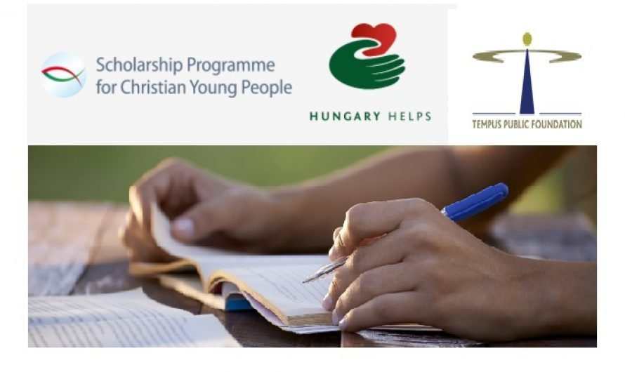 Tempus Public Foundation Scholarship Programme for Christian Young People