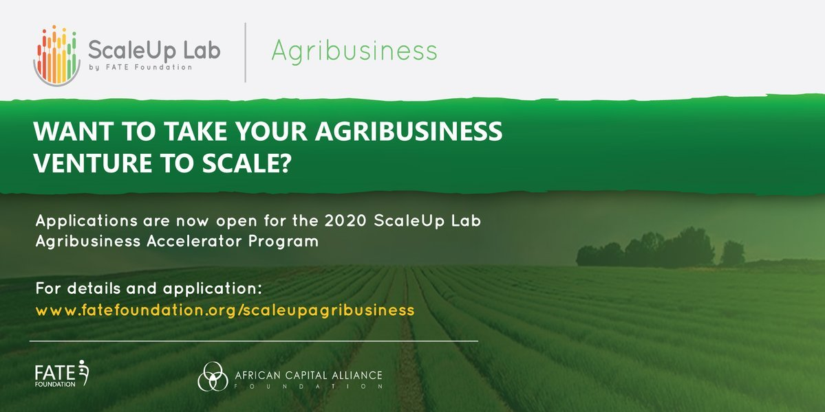 Fate Foundation ScaleUp Agribusiness Accelerator Programme