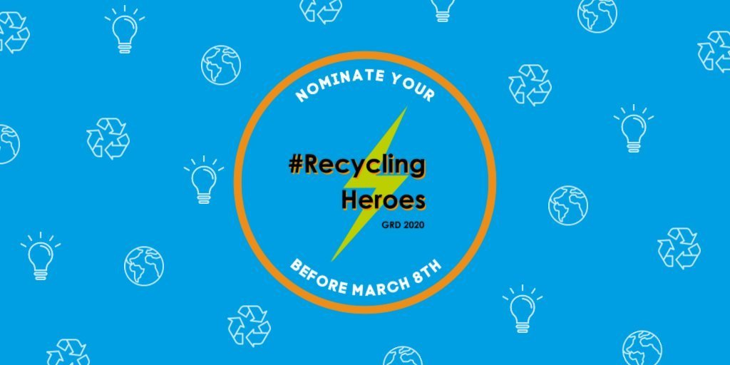 Global Recycling Foundation #RecyclingHeroes Competition