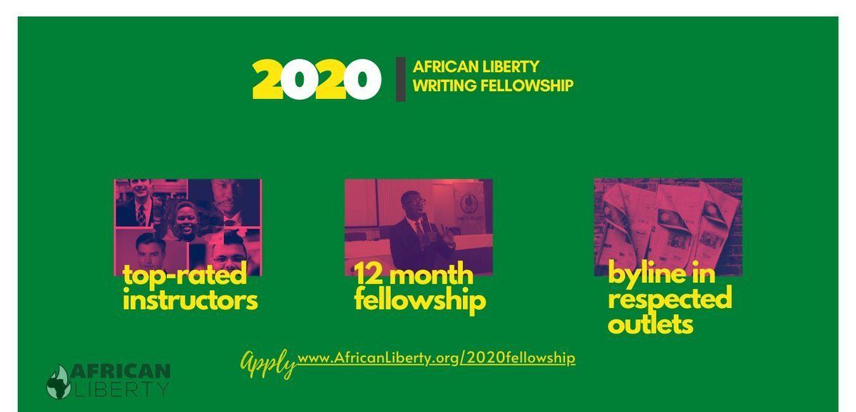African Liberty Writing Fellowship Program