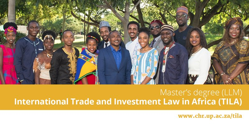 Centre for Human Rights LLM in International Trade & Investment Law in Africa