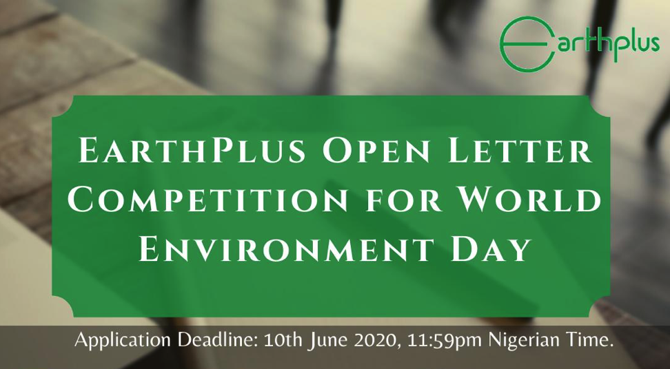 EarthPlus Letter Writing Competition