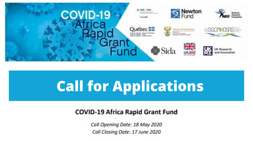 National Research Foundation COVID-19 Africa Rapid Grant Fund