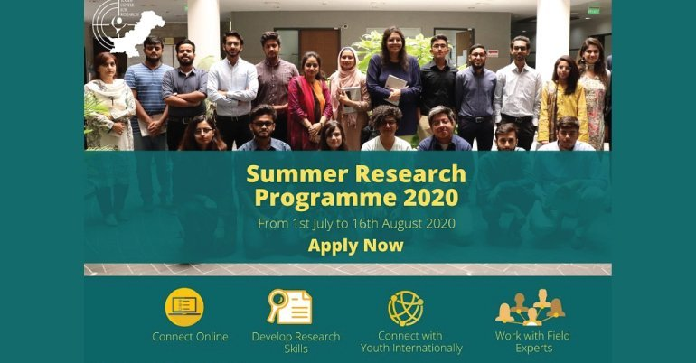 Youth Center for Research (YCR) Virtual Summer Research Programme