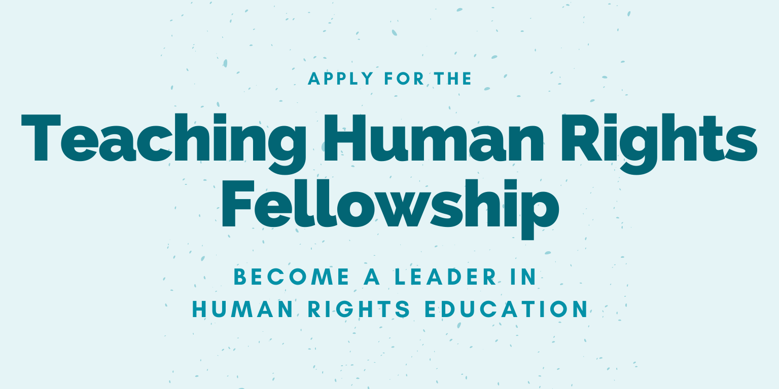 Teaching Human Rights Fellowship