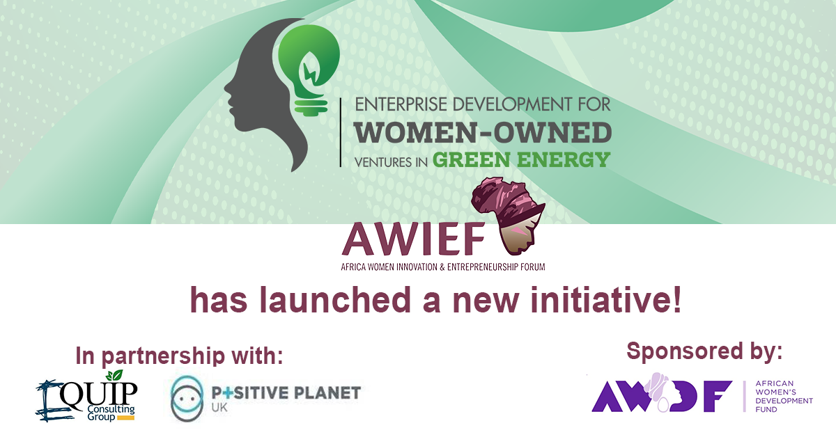 AWIEF Green Energy Startup Incubator