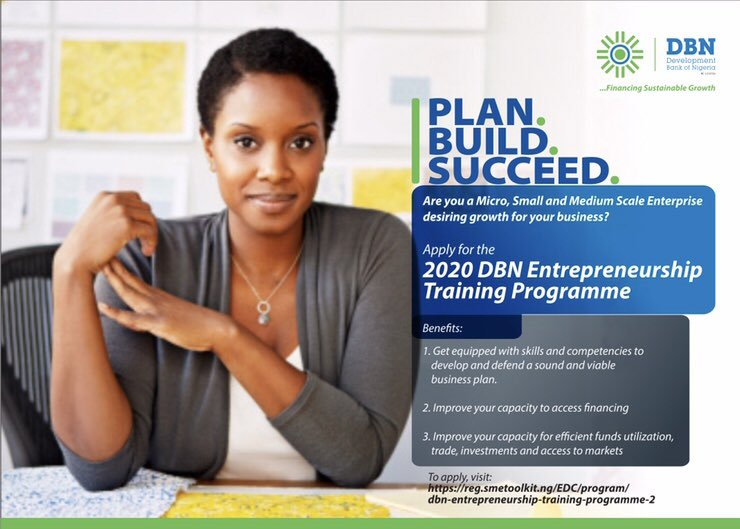Development Bank of Nigeria Entrepreneurship Training Program