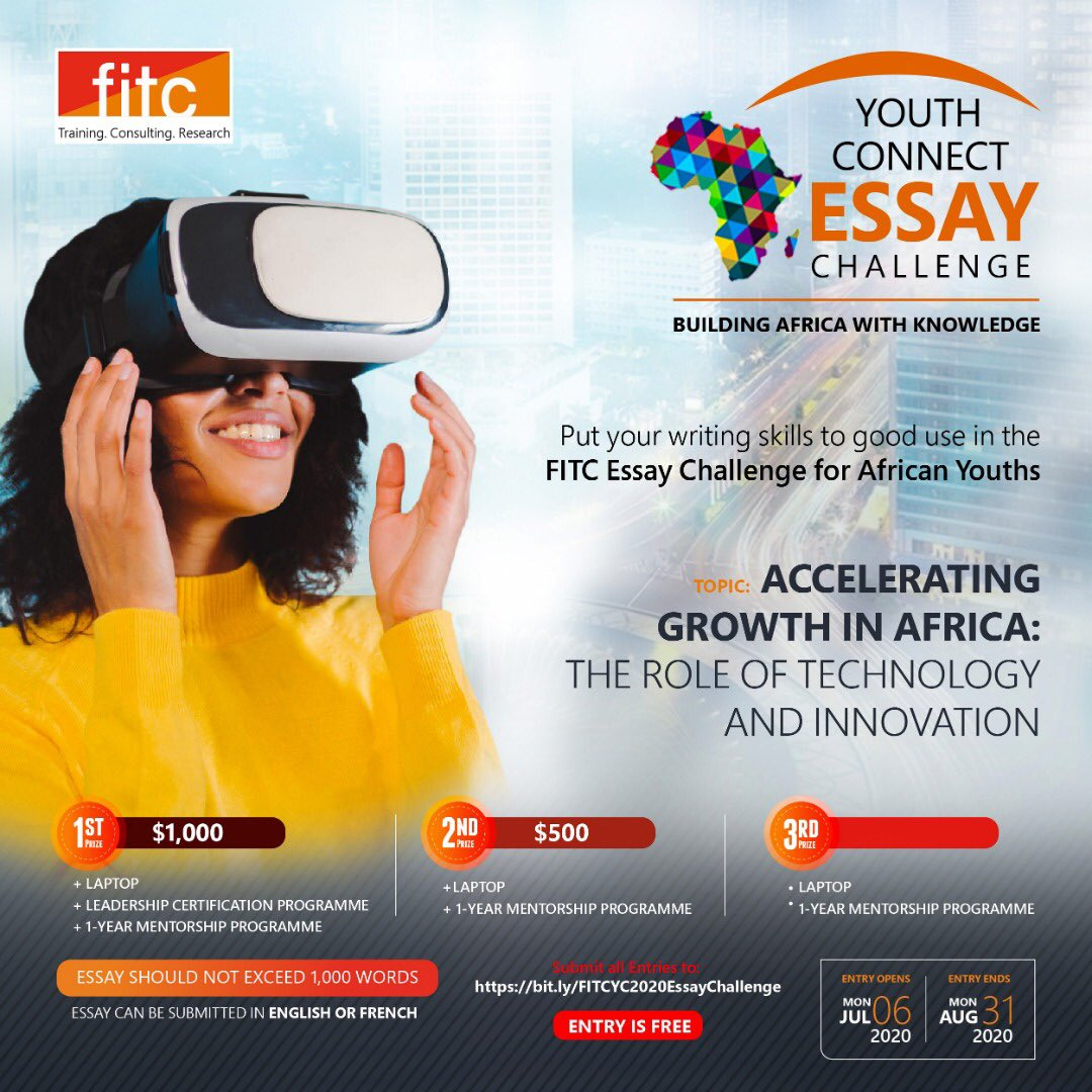 FITC Youth Connect Essay Challenge