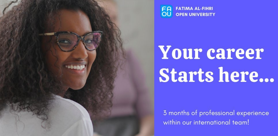 Fatima Al-Fihri Open University Autumn Internship
