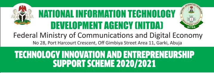 NITDA Technology Innovation and Entrepreneurship Support Scheme