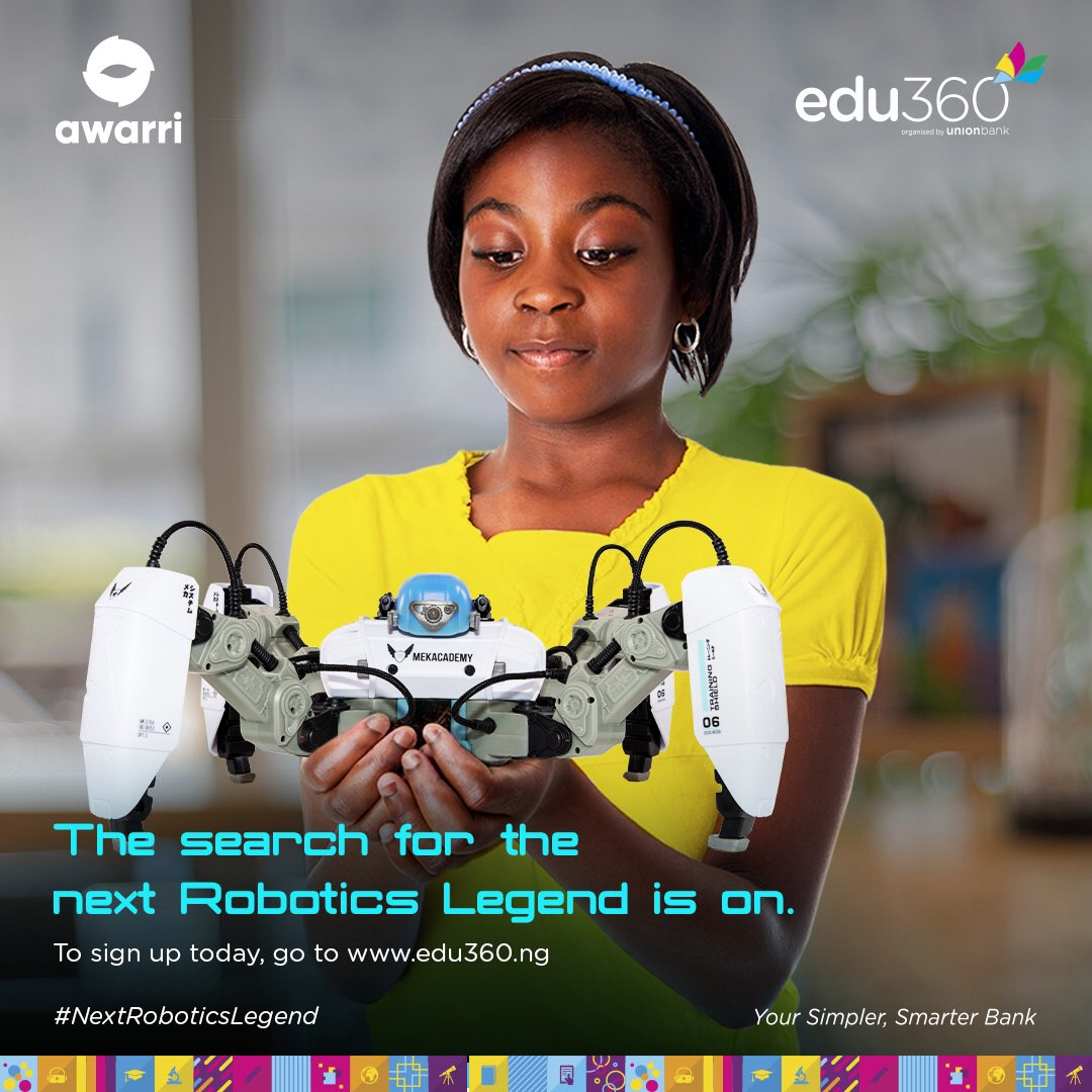 Union Bank edu360:Awarri Robotics Training and Competition