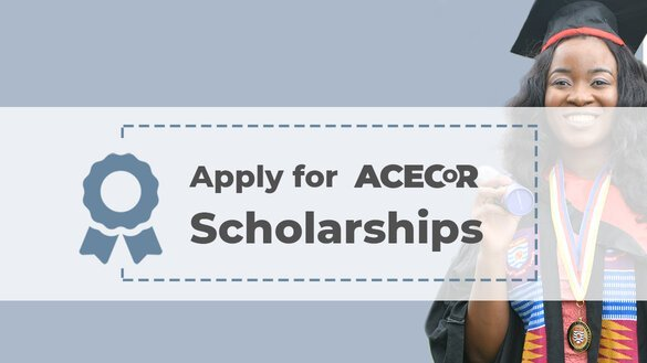 World Bank ACECoR Scholarship