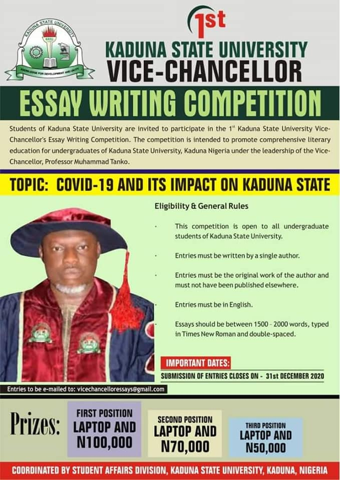 kasu essay writing competition