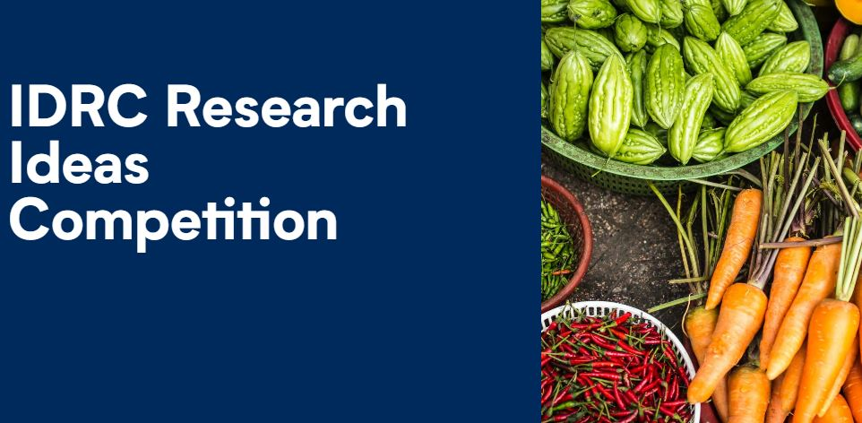 Canada's International Development Research Centre (IDRC) Research Ideas Competition