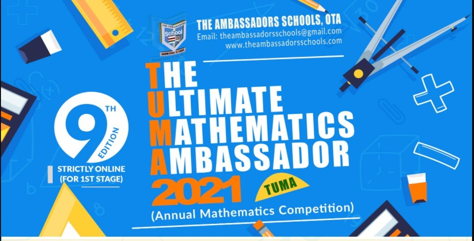 The Ultimate Mathematics Ambassador (TUMA) Competition