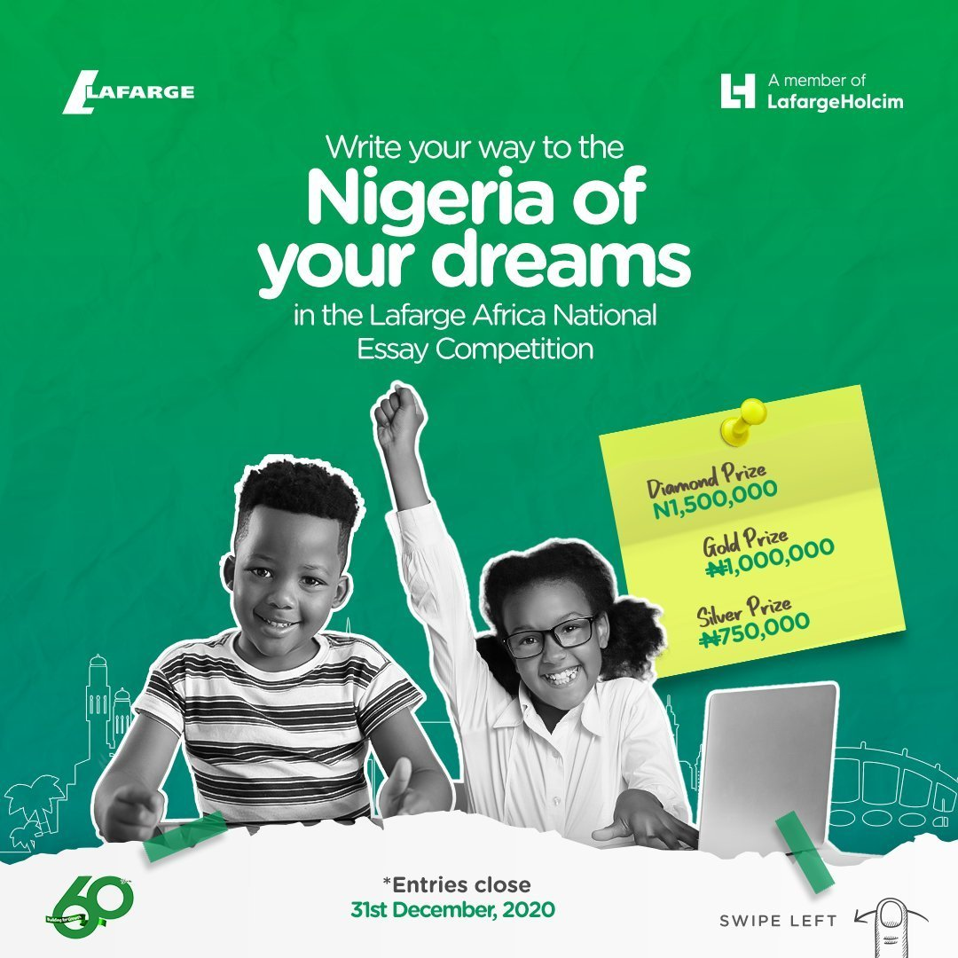Lafarge Africa Plc National Essay Competition 2020