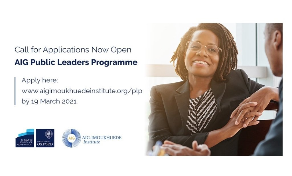 AIG-Imoukhuede Institute Public Leaders Programme