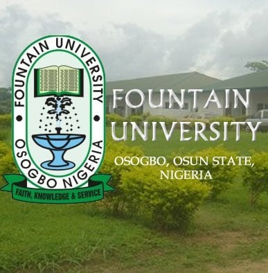 Fountain University, Osogbo, FUO available undergraduate courses/programmes