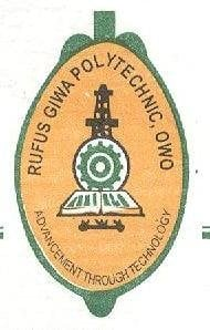 Rufus Giwa Poly ND Part-Time Admission Form